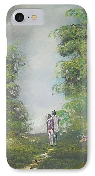Our Time Together IPhone Case by Raymond Doward
