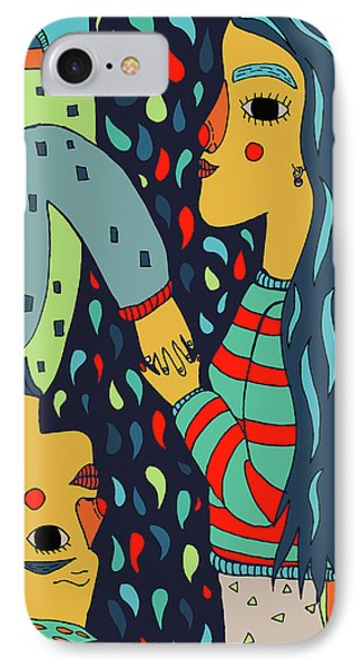 Our Universe IPhone Case by Nicole Wilson