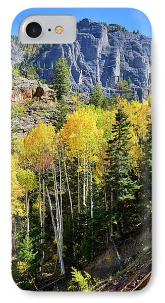 IPhone Case featuring the photograph Ouray Aspens by Ray Mathis