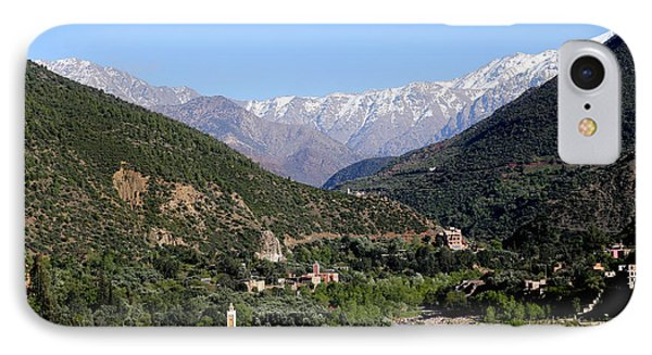 IPhone Case featuring the photograph Ourika Valley 2 by Andrew Fare