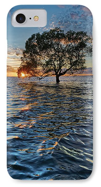 Out At Sea IPhone Case by Robert Charity