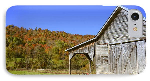 Out By The Old Barn IPhone Case by Edward Fielding