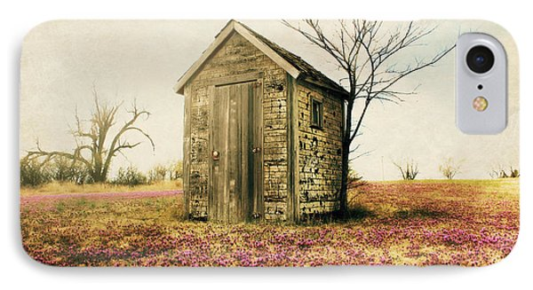Outhouse IPhone Case by Julie Hamilton