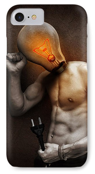 Out Of Ideas IPhone Case