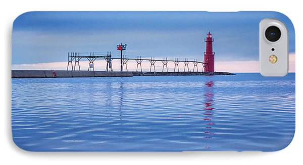 IPhone 7 Case featuring the photograph Out Of The Blue by Bill Pevlor