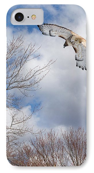 Out Of The Blue IPhone Case by Bill Wakeley