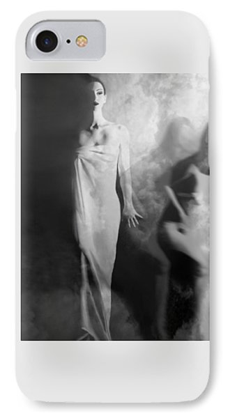 Out Of The Fog - Self Portrait IPhone Case by Jaeda DeWalt