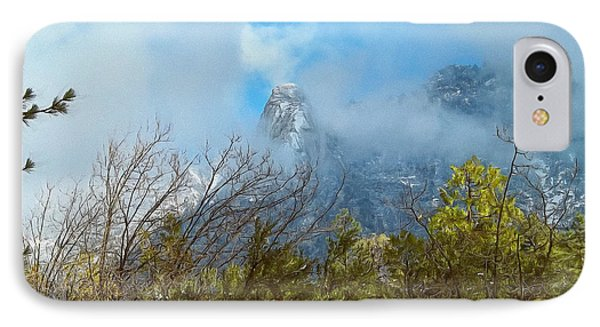 IPhone Case featuring the photograph Out Of The Mist by Glenn McCarthy Art and Photography