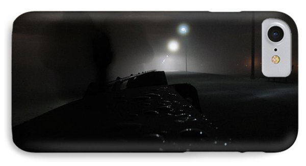 IPhone Case featuring the photograph Out Of The Mist by Digital Art Cafe