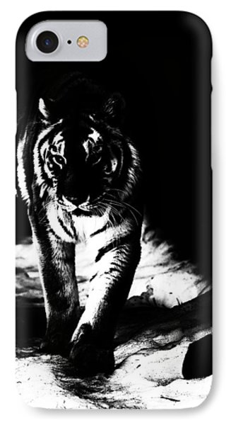 Out Of The Shadows IPhone Case by Karol Livote