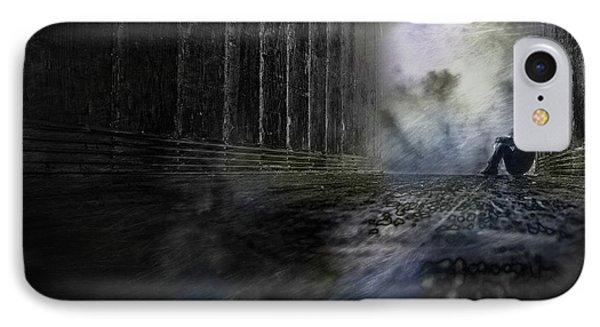 IPhone Case featuring the photograph Out Of The Storm by Gray  Artus