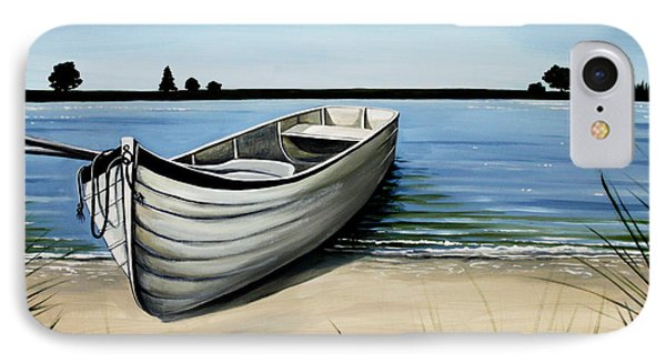 Out On The Water IPhone Case by Elizabeth Robinette Tyndall