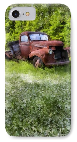 Out To Pasture IPhone Case by Edward Fielding