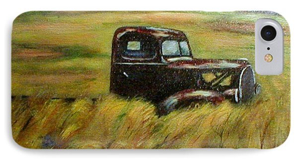 IPhone Case featuring the painting Out To Pasture by Gail Kirtz