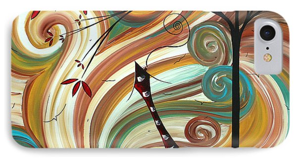 Out West II By Madart Phone Case by Megan Duncanson