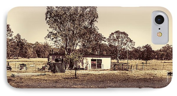 Outback Country Australia Panorama Landscape  IPhone Case by Jorgo Photography - Wall Art Gallery