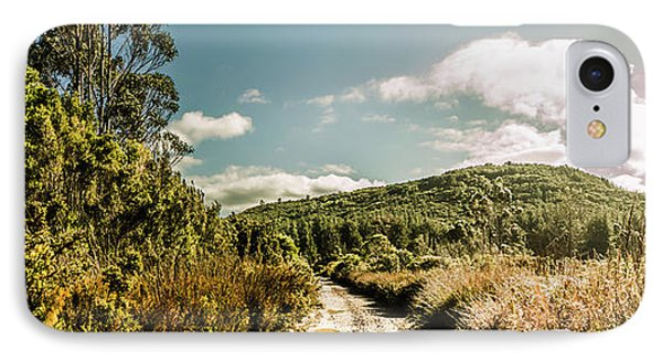 Outback Country Road Panorama IPhone Case by Jorgo Photography - Wall Art Gallery