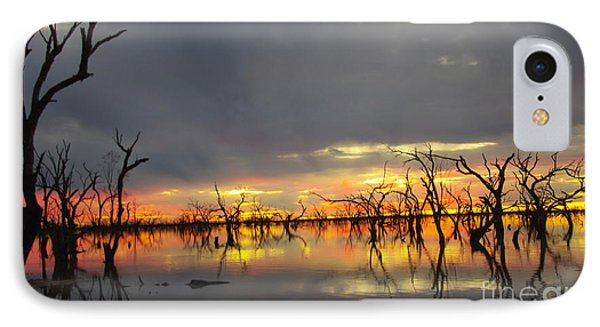 Outback Sunset IPhone Case by Blair Stuart