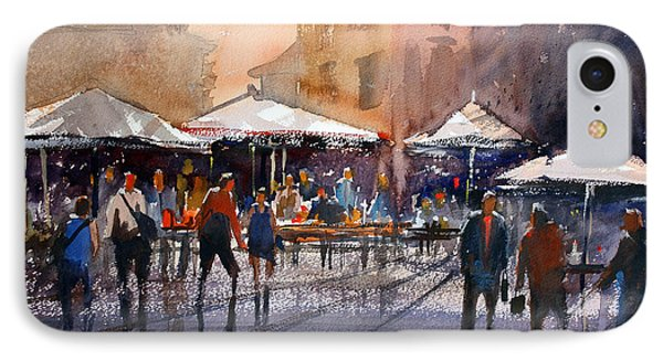 Outdoor Market - Rome IPhone Case by Ryan Radke
