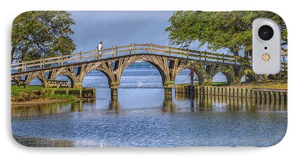 Outer Banks Whalehead Club Bridge  Phone Case by Randy Steele