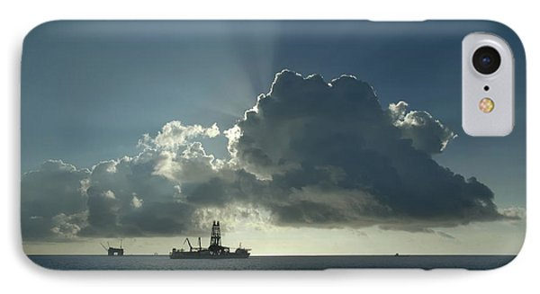 Outer Continental Shelf Oilfield  IPhone Case