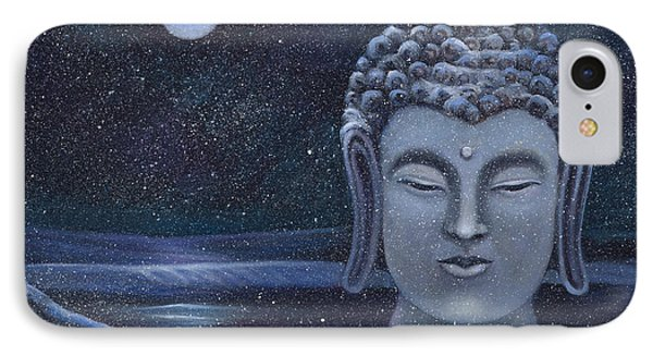 Winter Buddha IPhone Case