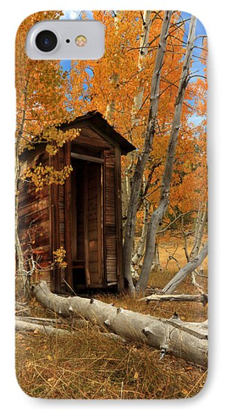 Outhouse In The Aspens IPhone Case