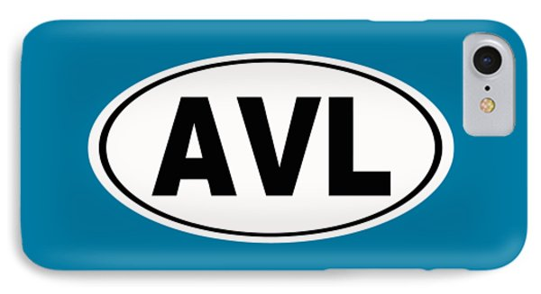 IPhone Case featuring the photograph Oval Avl Asheville North Carolina Home Pride by Keith Webber Jr