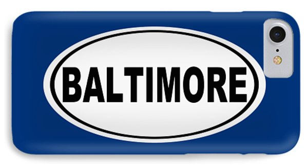 IPhone Case featuring the photograph Oval Baltimore Maryland Home Pride by Keith Webber Jr