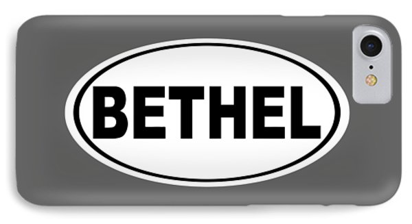 IPhone Case featuring the photograph Oval Bethel Connecticut Home Prid by Keith Webber Jr