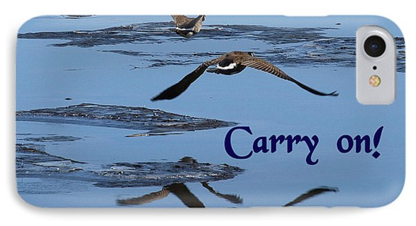 Over Icy Waters Carry On IPhone Case