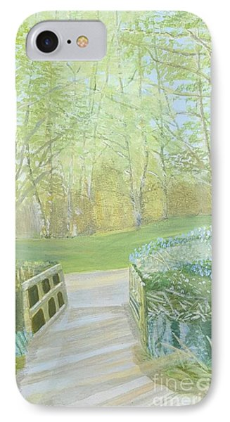 Over The Bridge IPhone Case by Joanne Perkins
