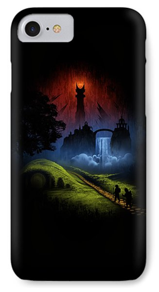 Over The Hill IPhone Case by Alyn Spiller