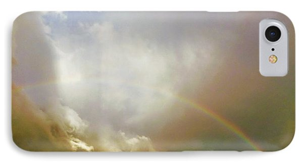 IPhone Case featuring the photograph Over The Rainbow by Deborah Moen