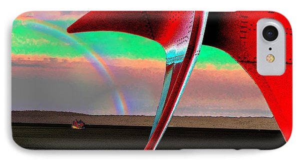 Over The Rainbow Phone Case by Tim Allen
