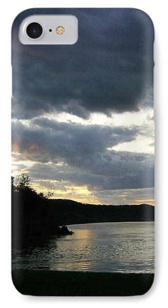 Overcast Morning Along The River IPhone Case by Skyler Tipton