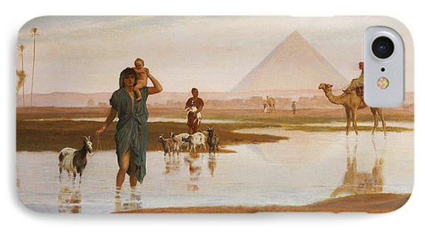 Overflow Of The Nile Phone Case by Frederick Goodall