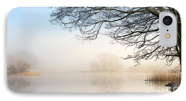 Overhang Esthwaite Water Lake District IPhone Case