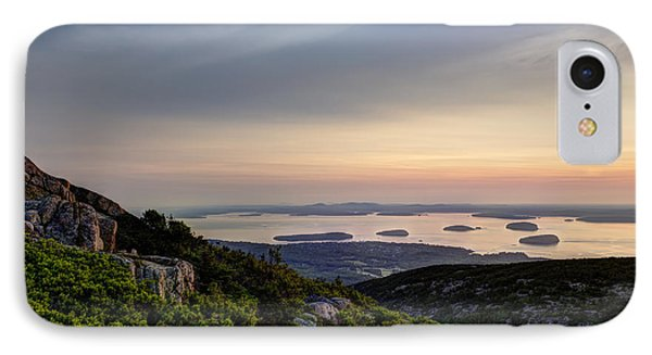 Overlooking Bar Harbor IPhone Case
