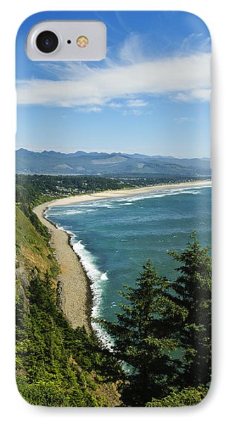Overlooking Nehalem Bay IPhone Case by Greg Vaughn - Printscapes
