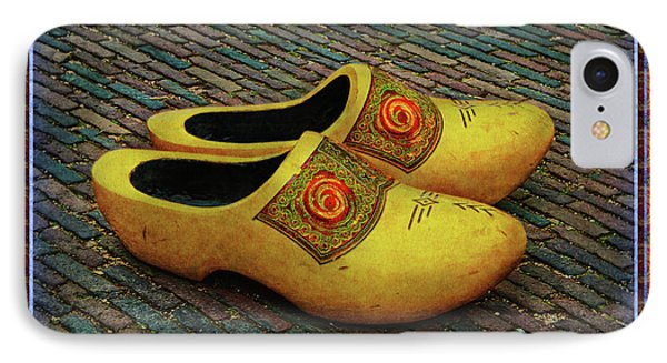 IPhone Case featuring the photograph Oversized Dutch Clogs by Hanny Heim