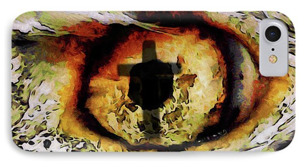 IPhone Case featuring the digital art Overwhelmed Remember Him by Ernie Echols