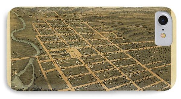 Owatonna, Minnesota 1870 IPhone Case by MapResearcher