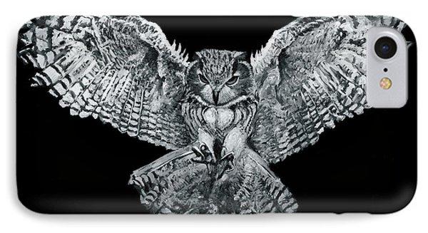 Owl 1 IPhone Case