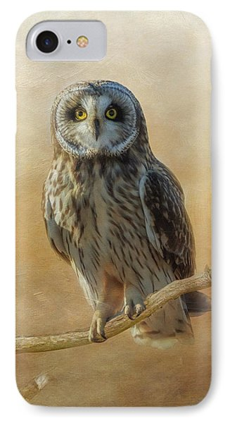 IPhone Case featuring the photograph Owl  by Angie Vogel