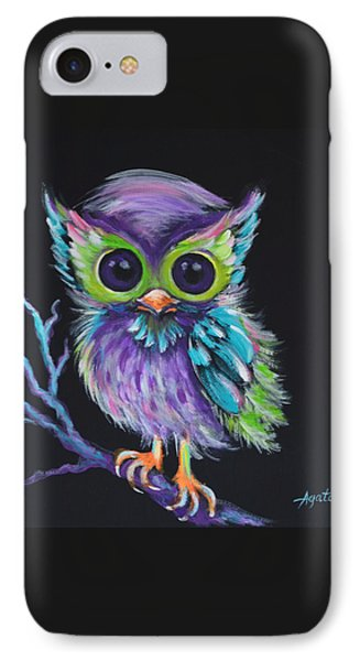 Owl Be Your Friend IPhone Case by Agata Lindquist