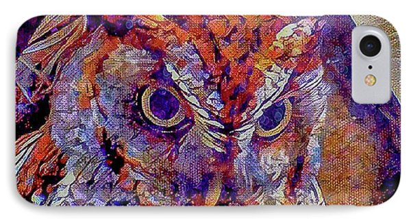 IPhone Case featuring the photograph Owl by David Mckinney