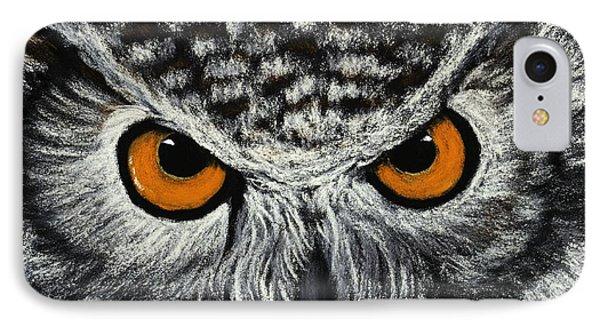 Owl Eyes IPhone Case