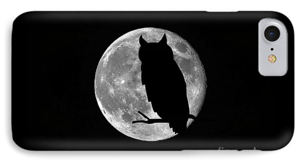 Owl Moon Phone Case by Al Powell Photography USA