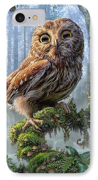 Owl Perch IPhone 7 Case